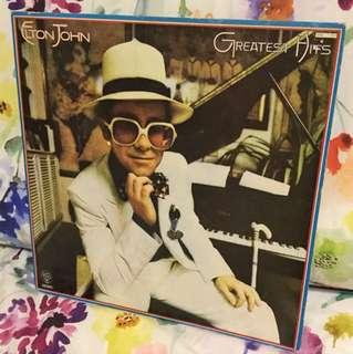 Vinyl Lp- Elton John greatest hits