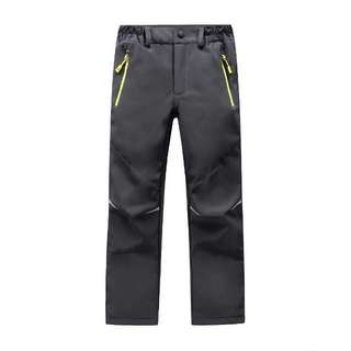 Kids waterproof outdoor pants