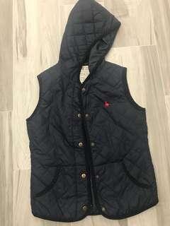 Jack wills sleeveless padded jacket