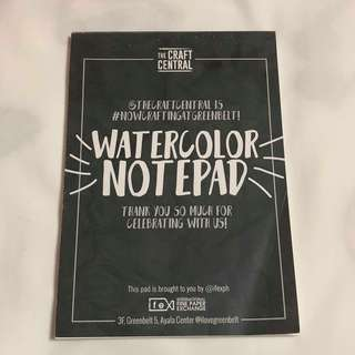 The Craft Central Watercolor Pad