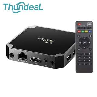 X96 Mini TV Box Android 7.1.2 WIFI 4K HD Smart Media Player Smart Set Top BOX 8G 32G Amlogic S905W Quad Core HDMI X96Mini TV Box