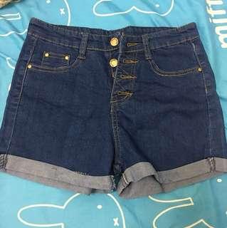 Jeans skirt short pants 褲 短褲 熱褲 夏天 anf Hollister h and m Zara