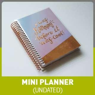 Planning Mini Planner