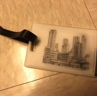 江啟明素描作品2016年特別郵票款行李扣