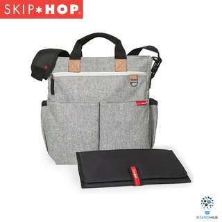 Skip Hop Duo Signature Diaper Bag - Grey Melange [BG-SH200326]