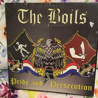 The Boils - lp vinyl - street punk USA