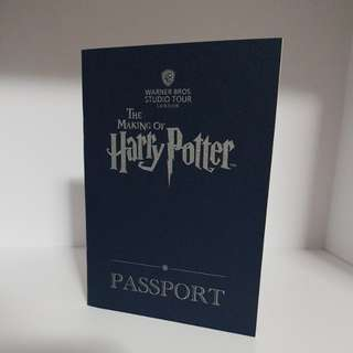 *bn* The making of Harry Potter passport