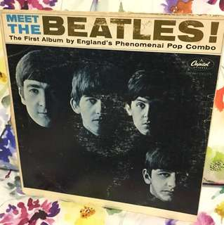 Vinyl Lp - meet the Beatles
