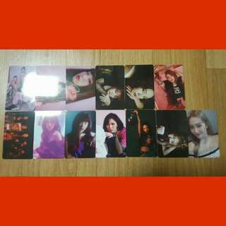 (Incoming Ready Stock) Red Velvet Khino Album Official Photocard