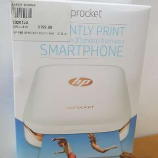 Brand New With Box - Sprocket Photo Printer