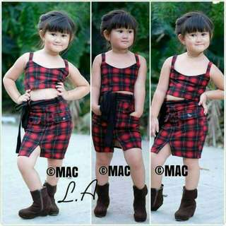 php 390  SKIRT SET small, medium, large 3-8yrs old neoprene/spanribs