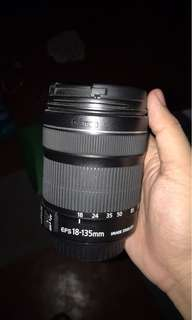 EF-S 18-135mm f/3.5-5.6 IS Lens from Canon