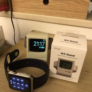 Elago W3 Apple Watch Silicon Stand (Charging Cable not included)