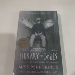 LIBRARY OF SOULS MISS PEREGRINES 3RD BOOK
