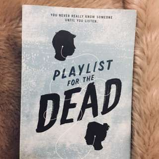 BOOK Playlist For The Dead by Michelle Falkoff