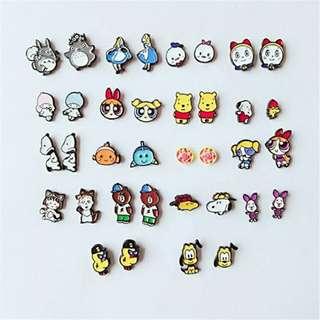 [BUY 2 FREE 1] Cute cartoon earrings