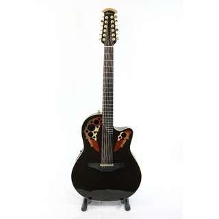 Adamas Ovation 12-string W598 - Black - Year 2012