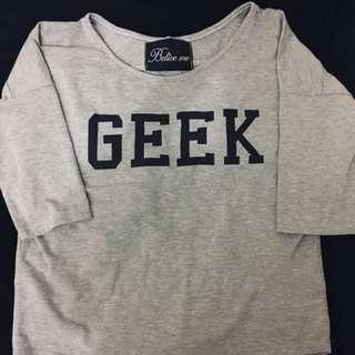 Grey Top (GEEK)