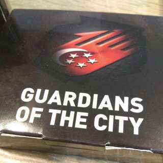Guardians of the city playing cards