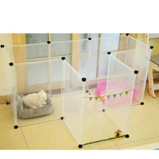 Transparent Pet Fence