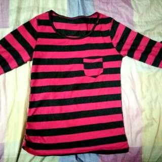 Pink and Violet stripes