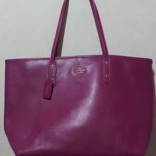 coach large shoulder bag