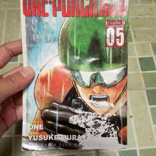 Komik one punch man