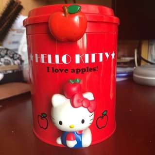 Hello kitty 儲物筒