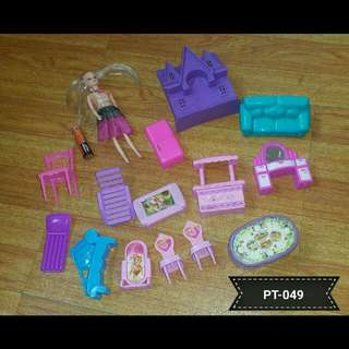 Mini Doll Furniture Set