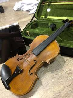 Authentic Antonio-Stella Walid violin