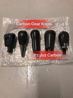 Carbon Gear knob