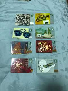 Clearance sales Starbucks China card