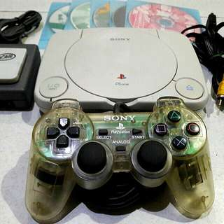 Ps1 slim playstation 1 psone with free games