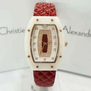 Jam Alexandre Christie AC 2638 White Red Original
