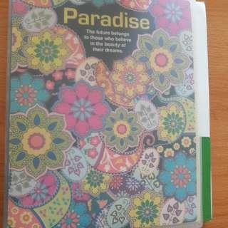 Preloved File Motif Bunga Paradise