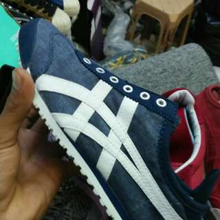 onitsuka slip on original made in indonesia