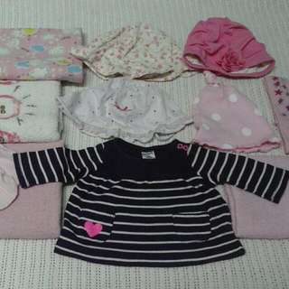 combo set baby girl newborn (free delivery)
