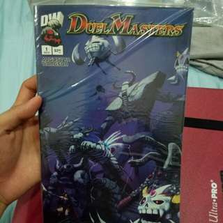 Duel Masters Dreamwave Comics Darkness Edition