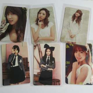 [OFFICIAL!!] Apink japan press album photocards