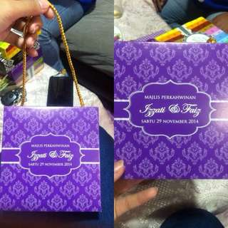 Door gift packaging box for all event and product