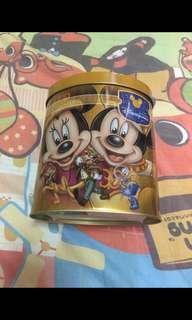 廸士尼米奇米妮精美鐵盒 (Disneyland Mickey Mouse)