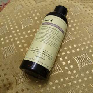Klairs Supple Preparation Toner used 2 times only