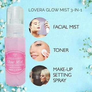 LOVERA GLOW MIST / 60ml. Processing proceed upon full payment received via bank transfer