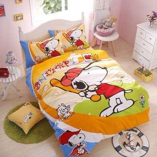 002 Snoopy Bedsheet Set