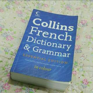 Collins French Dictionary & Grammar