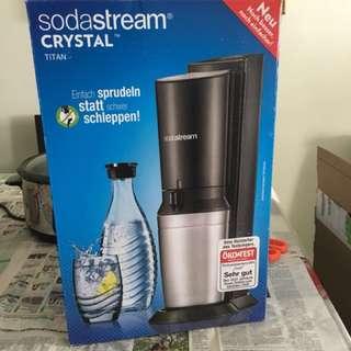 [Preorder] Sodastream Crystal Sparkling Water Kit