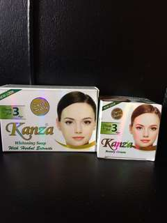 Kanza soap+kanza cream