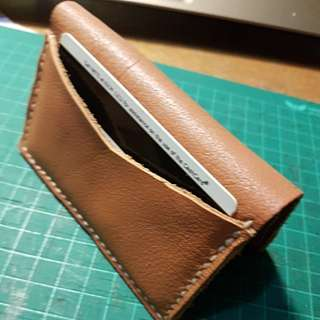 Handmade 100% genuine leather cardholder small wallet