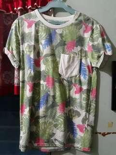 H & M Floral shirt