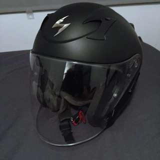 Scorpion EXO-220 Open Face Motorcycle Helmet